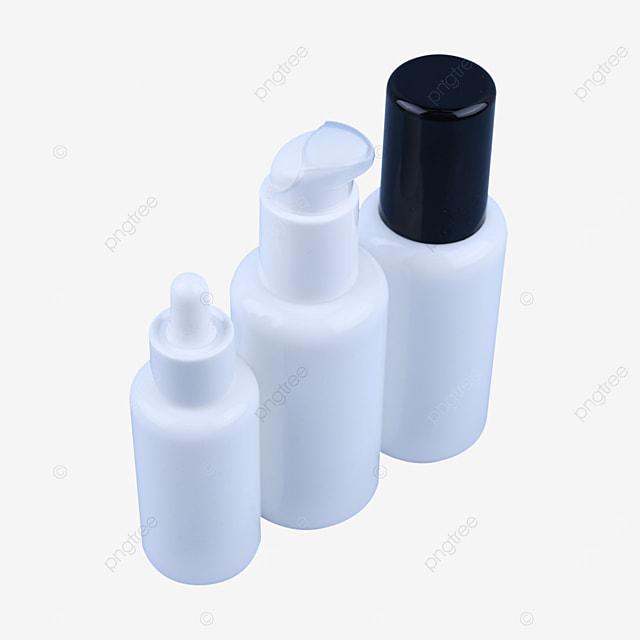 white porcelain emulsion dispensing sample empty bottle