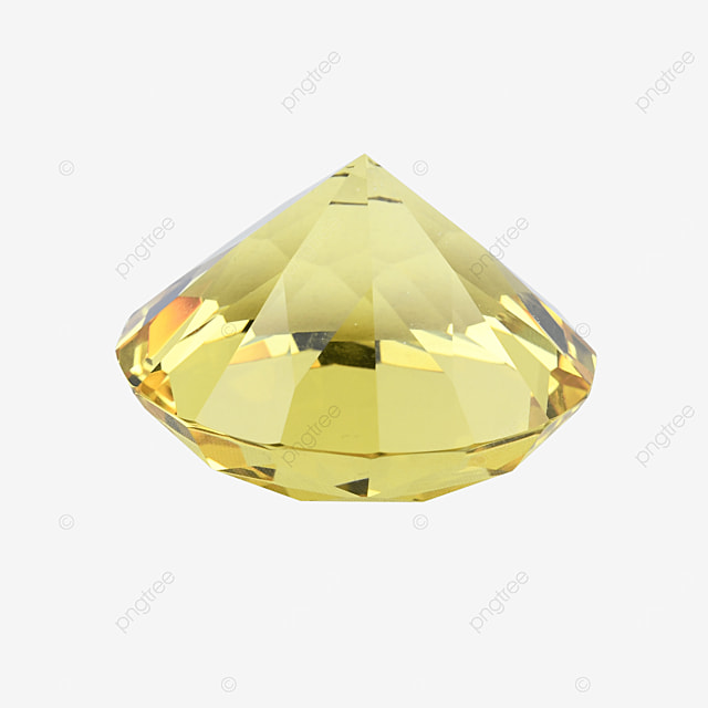yellow decorative crystal accessories jewelry gift