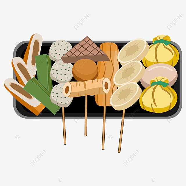 delicious and delicious food japanese oden