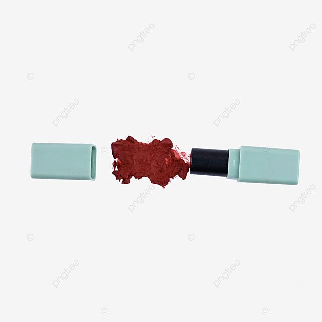a red mashed potato texture lipstick