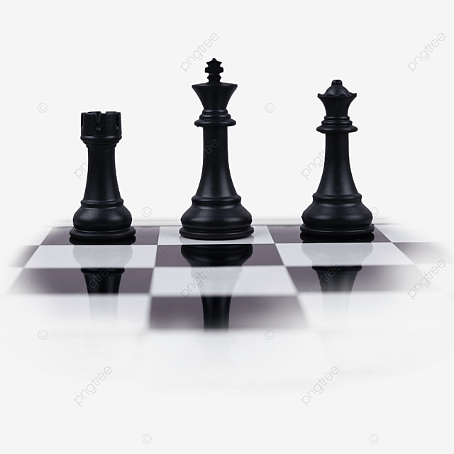Black And White Chess Board Chess Pieces International Chess Piece Checkerboard Png Transparent Image And Clipart For Free Download