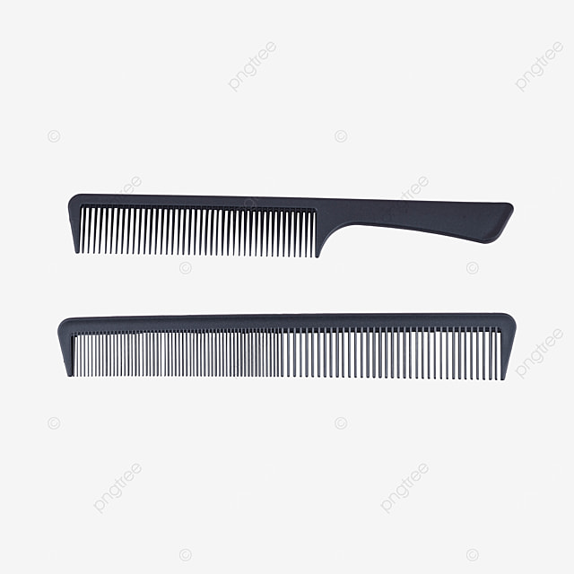 black comb haircut tool
