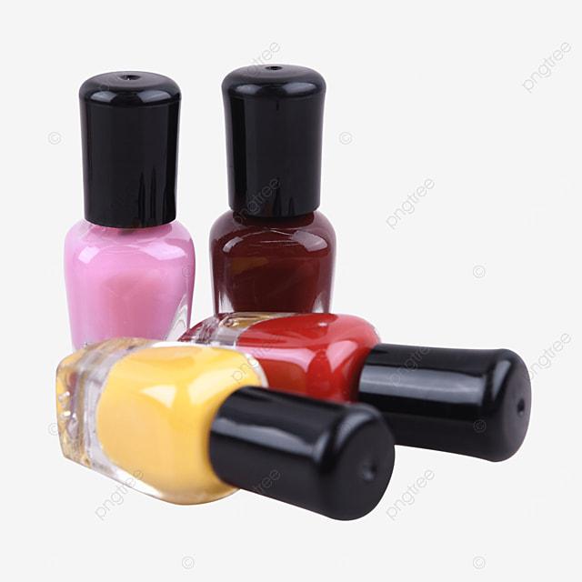 color cosmetic decoration pink nail polish