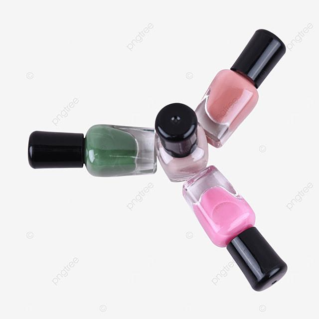color cosmetics green decorative nail polish