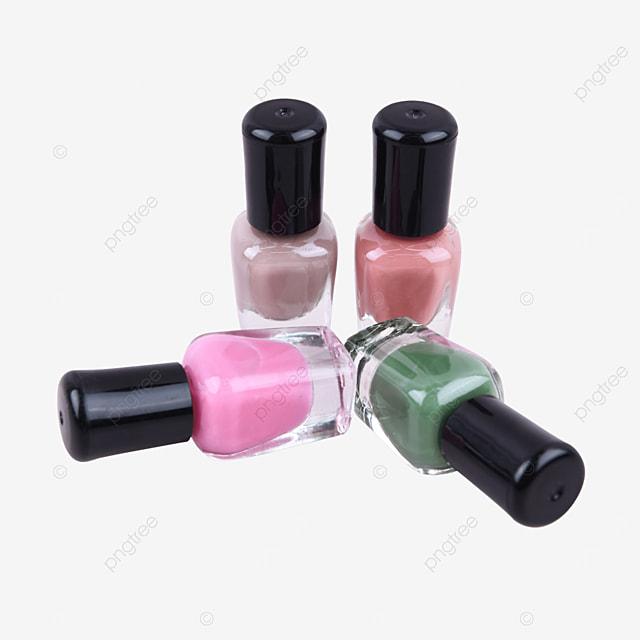 color cosmetics orange decorative nail polish