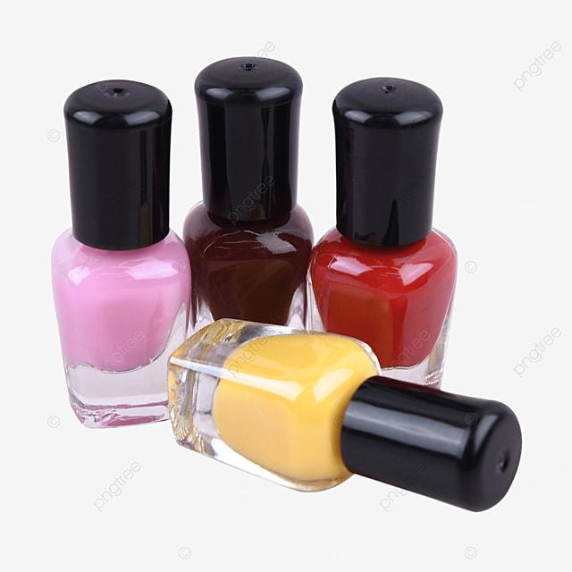 color cosmetics red decorative nail polish