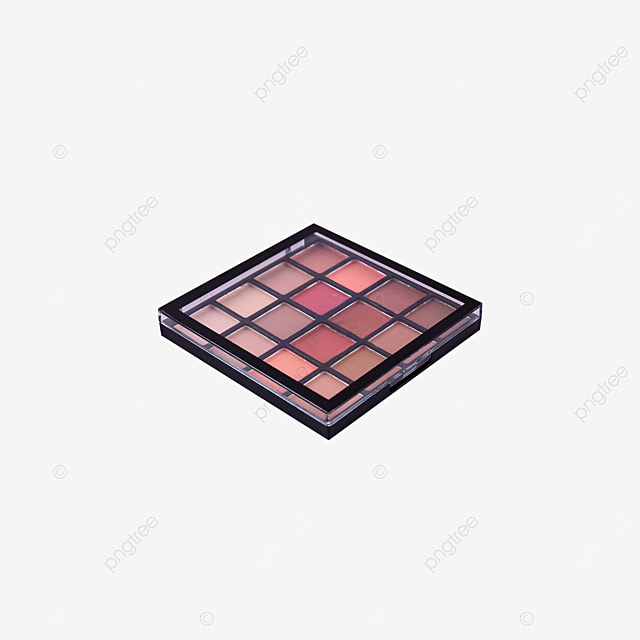 earth color cosmetic eyeshadow palette