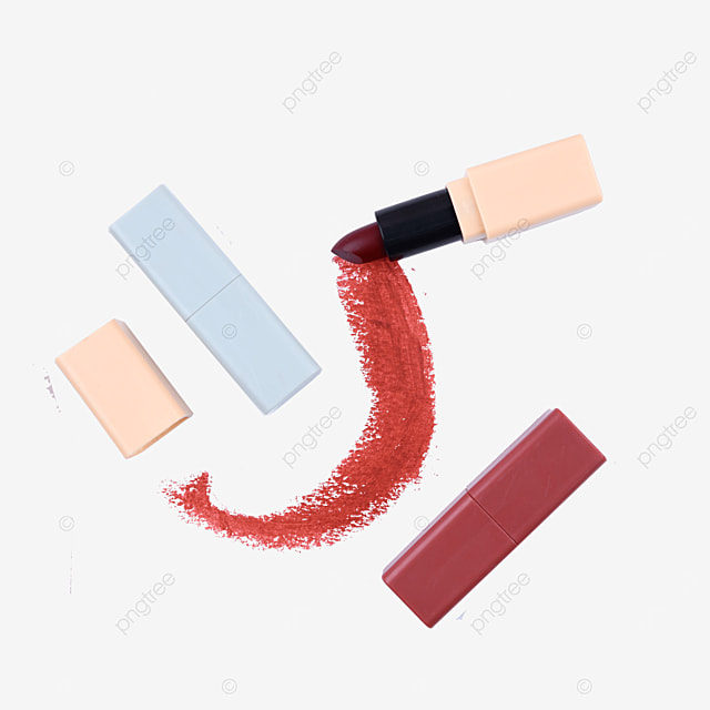 three frosted red lipsticks