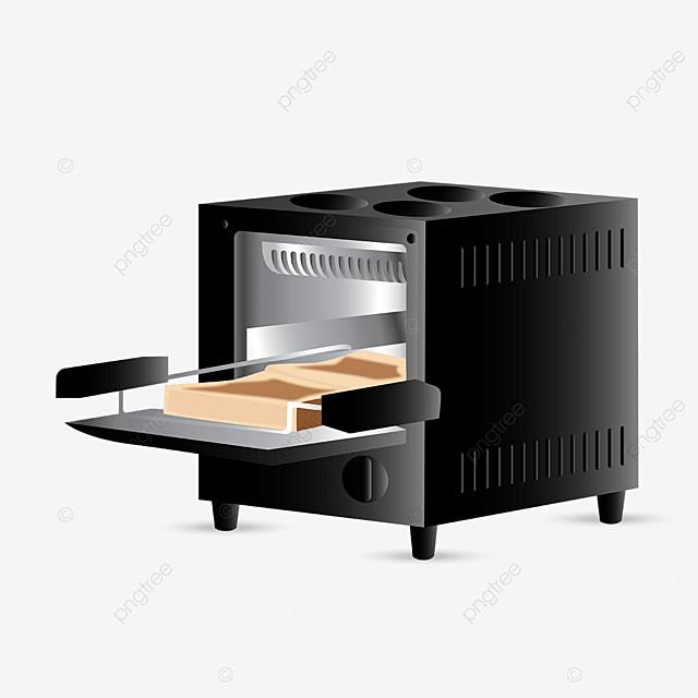 black metal oven clip art