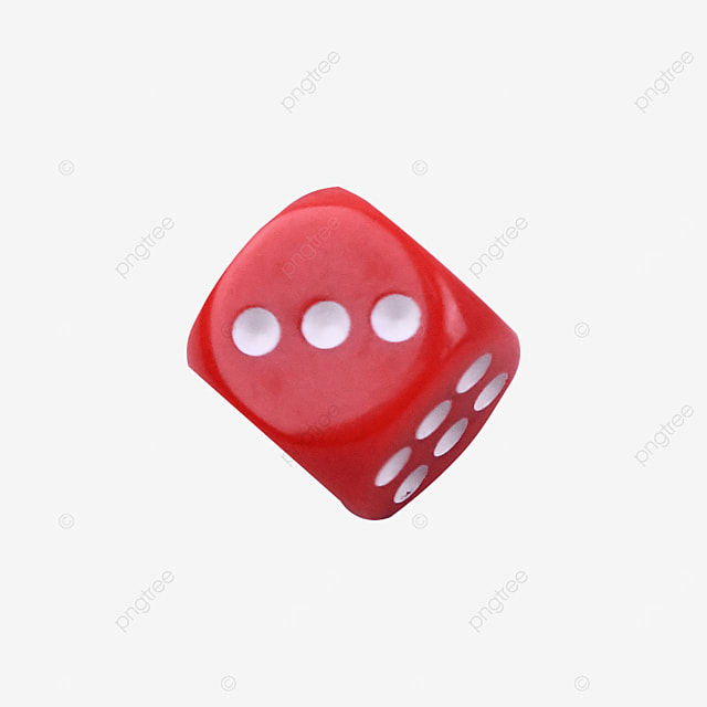 chance game cube dice