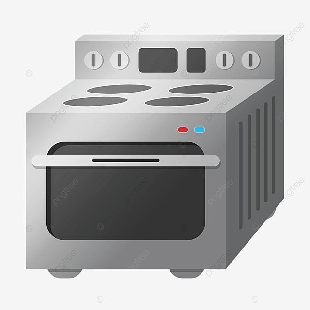 drop gray oven clip art