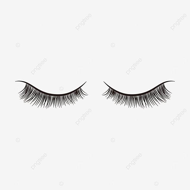 eye makeup material eyelashes clipart