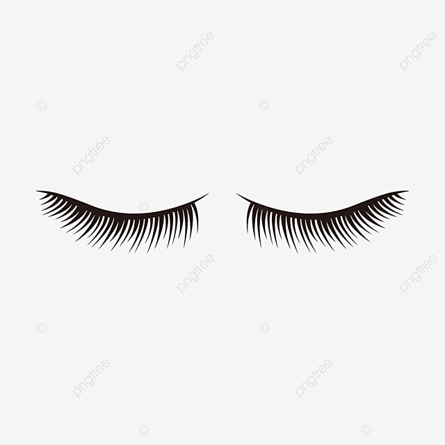 eye material eyelashes clipart