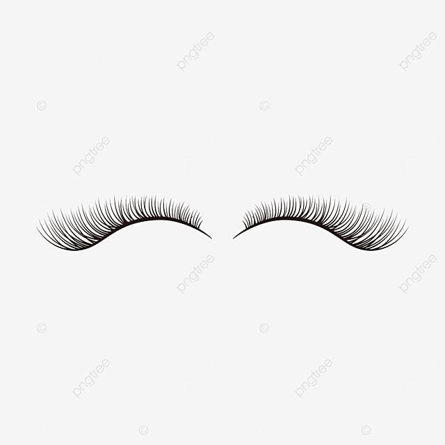 eyelashes clipart cartoon eye material
