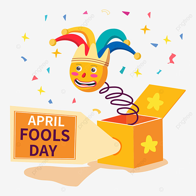 april fools day clown surprise funny toy box