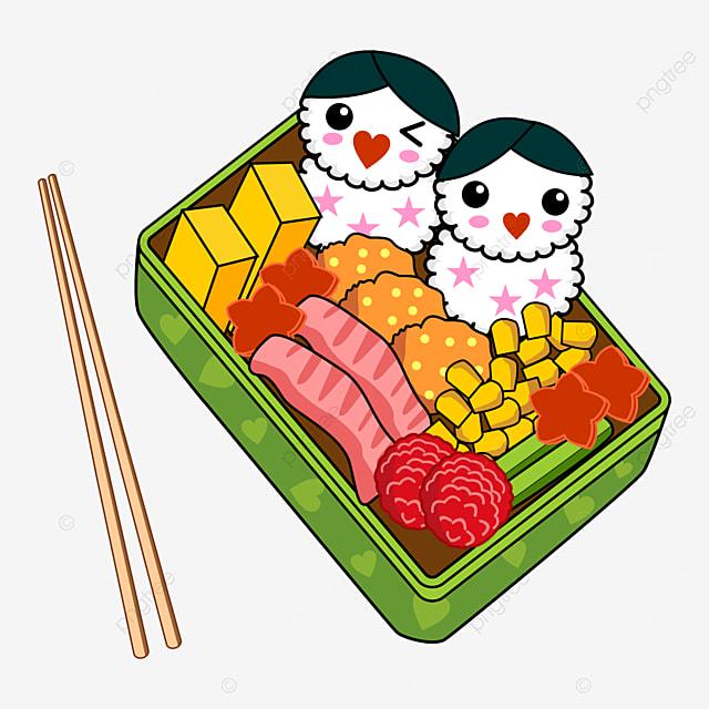 beautiful japanese cute lunch box