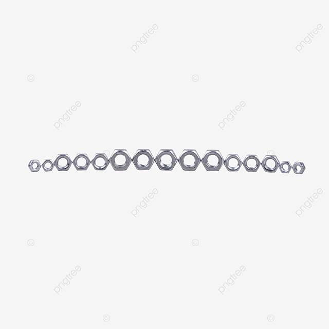 nut stainless steel buckle anti loosening parts fastening