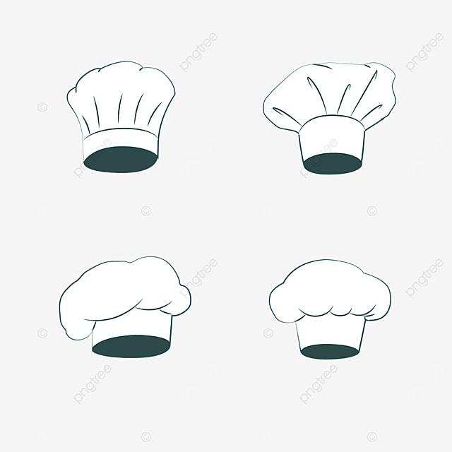 restaurant chef hat combination blue