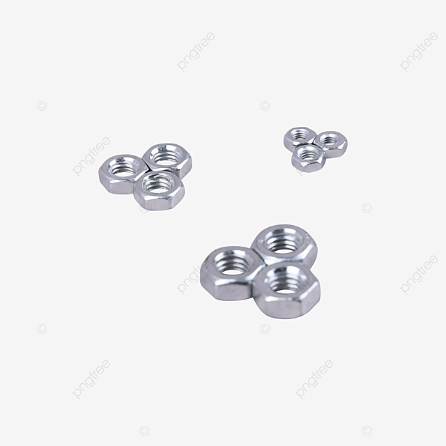 stainless steel anti loosening parts fastening nut fasten