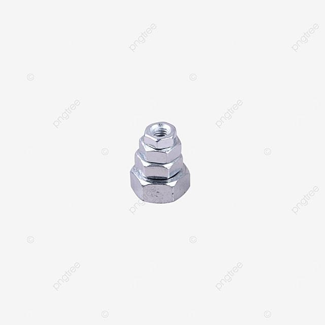 stainless steel buckle anti loosening fastening nut parts