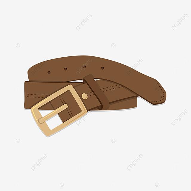 beige belt clip art