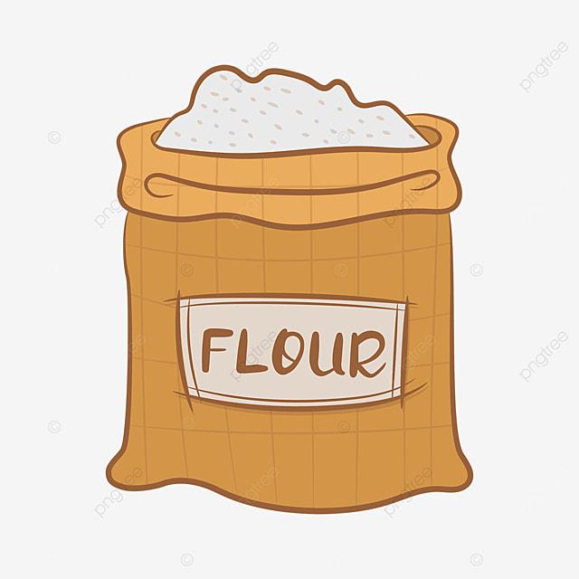 earthy plaid flour clip art
