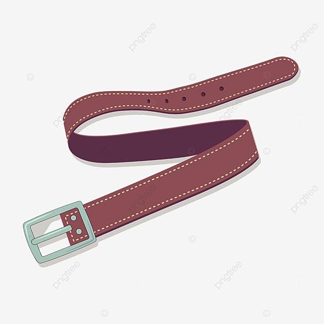 earthy red belt clip art