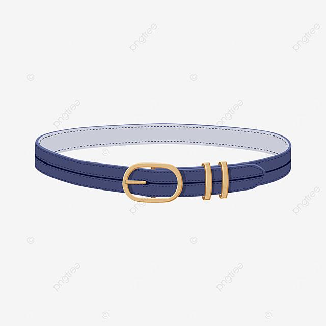 elegant blue belt clipart