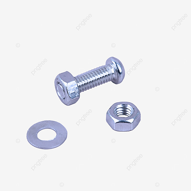 equipment parts iron metal screws