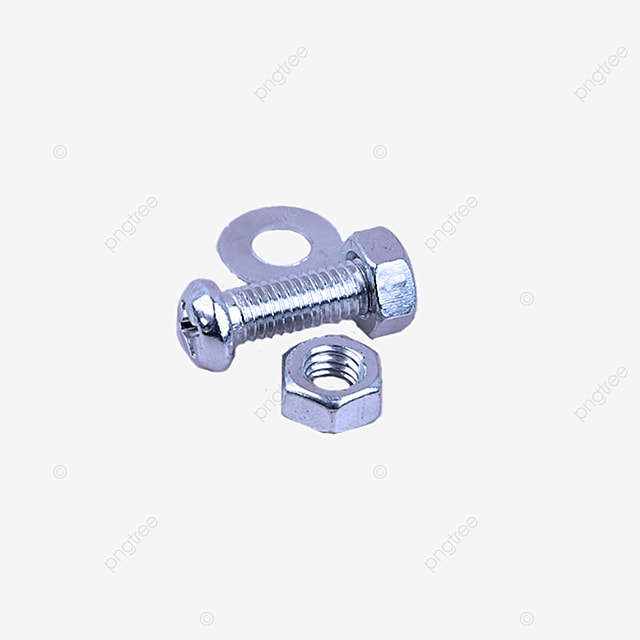 equipment parts screws and nuts