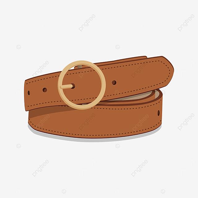 gold orange belt clip art