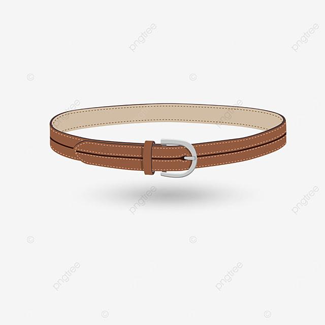 light brown belt clip art