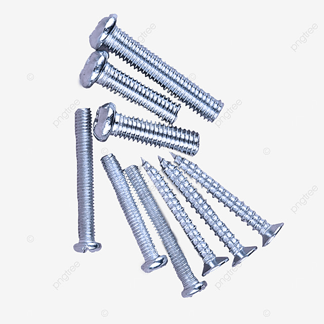 nine parts hardware parts screws