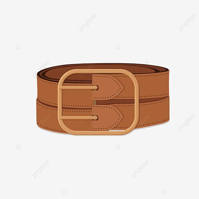 orange belt clip art