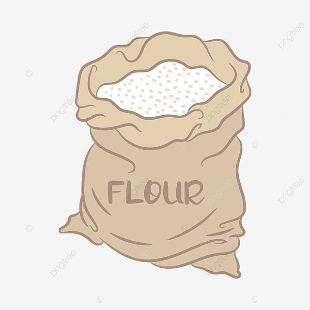 pocket flour clip art