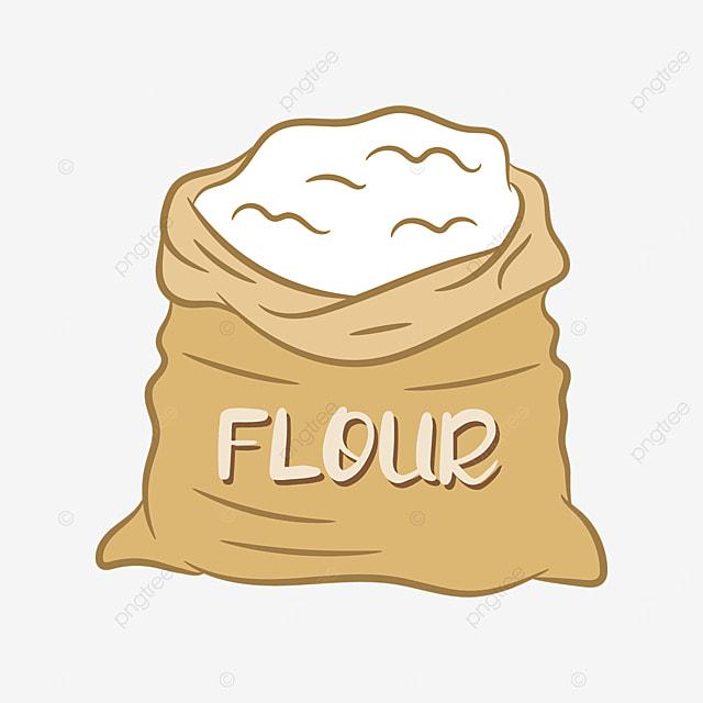 sack flour clip art