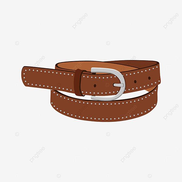 silver rivet belt clip art