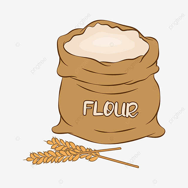 wheat flour clip art