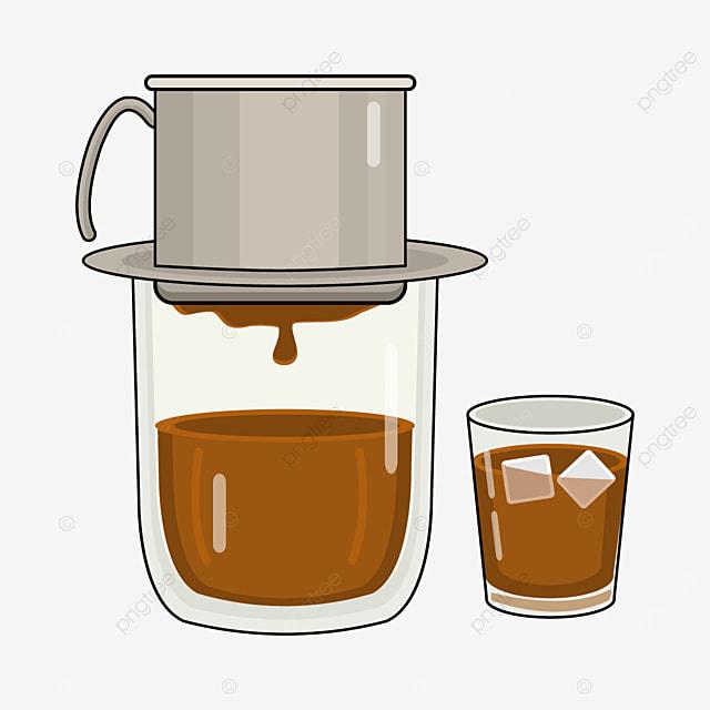 delicious vietnamese drip coffee