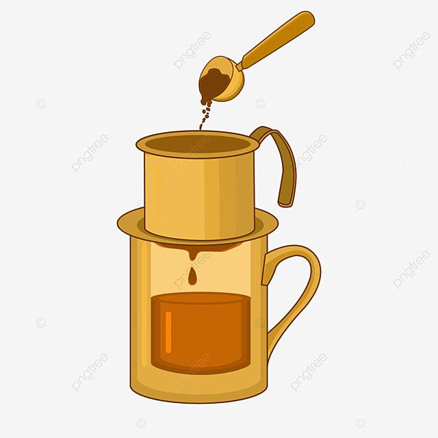 golden vietnamese drip coffee