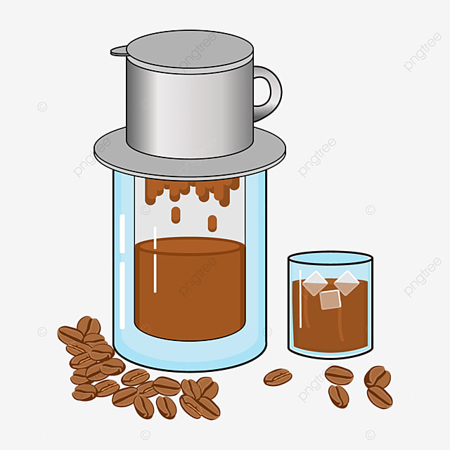 make delicious vietnamese drip coffee