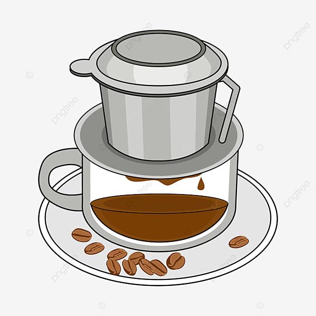 silver vietnamese drip coffee