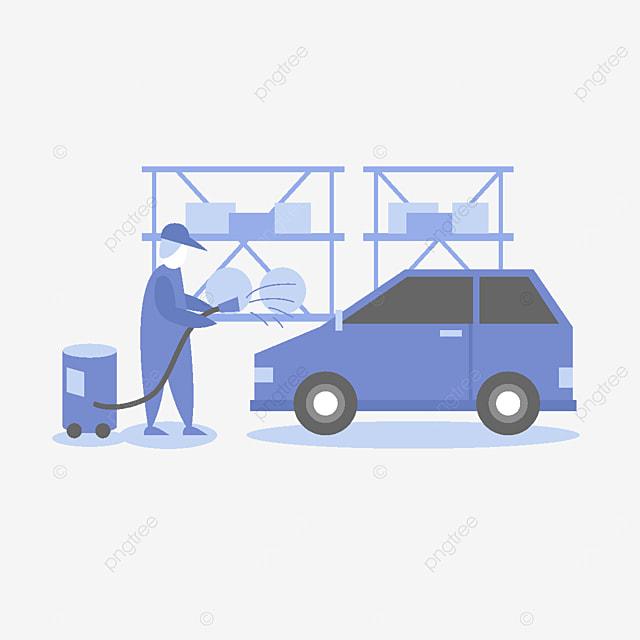 car repair service illustration