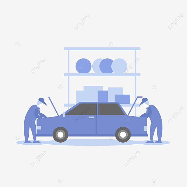 auto mechanic service clipart