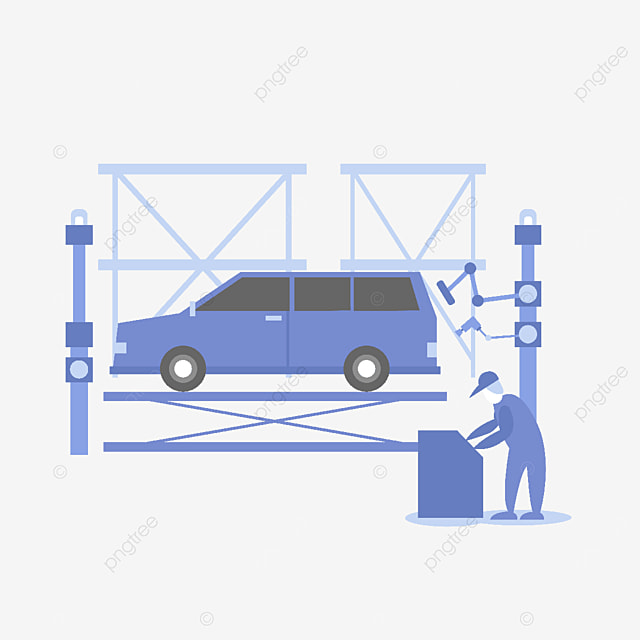car care service workbench
