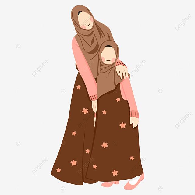 Gambar Ibu Dan Anak Perempuan Yang Comel Vektor Ibu Dan Anak Perempuan Ilustrasi Ibu Dan Anak Perempuan Ibu Dan Anak Perempuan Clipart Png Dan Clipart Untuk Muat Turun Percuma