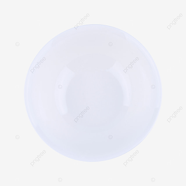 a blank clean round tray