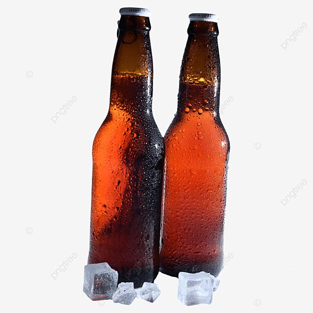 beer bottle beer brown drink