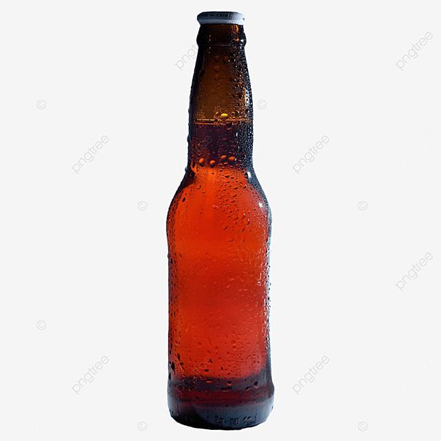 beer bottle brown beer drink