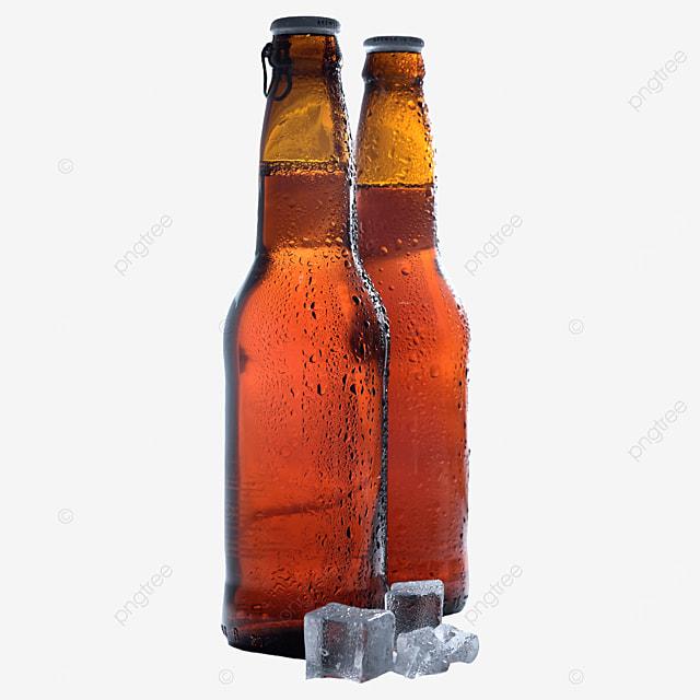 beer bottle brown drink beer